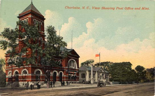 Charlotte Post Office