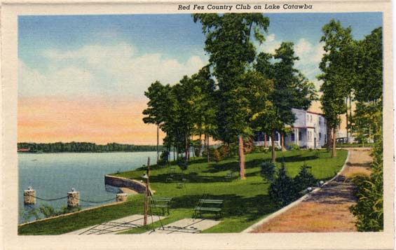 country club on lake
