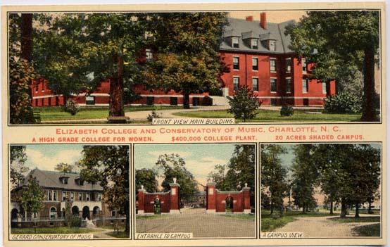 Elizabeth College, Campus, Women's College, Lutheran, Charlotte, private college