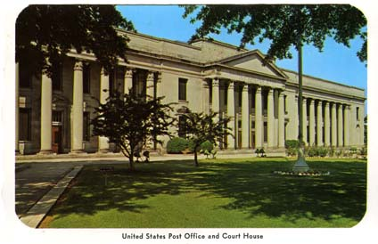 Federal Buildings on West Trade Street