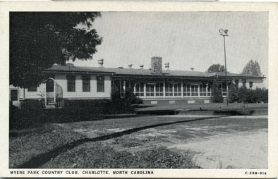 First Myers Park Country Club, North Carolina building