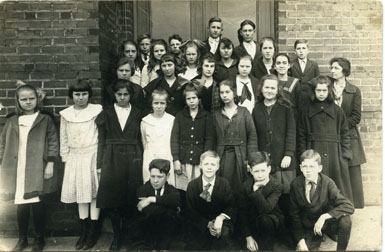 School Children, Wesley Heights, Charlotte, North Carolina