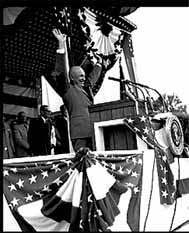 President Eisenhower at Freedom Park